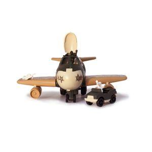 Avión Militar Luz y Sonido Marca Boy Toys