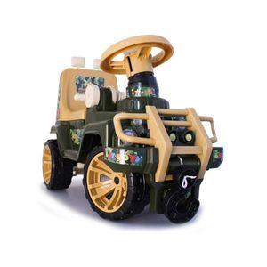 Vehículo montable Jeep Jungla Marca Boy Toys