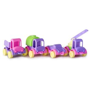 Carros Mis Pequeños Gigantes x 4para Niña Marca Boy Toys