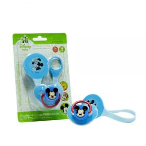 Chupo con agarradera de clip Mickey Mouse