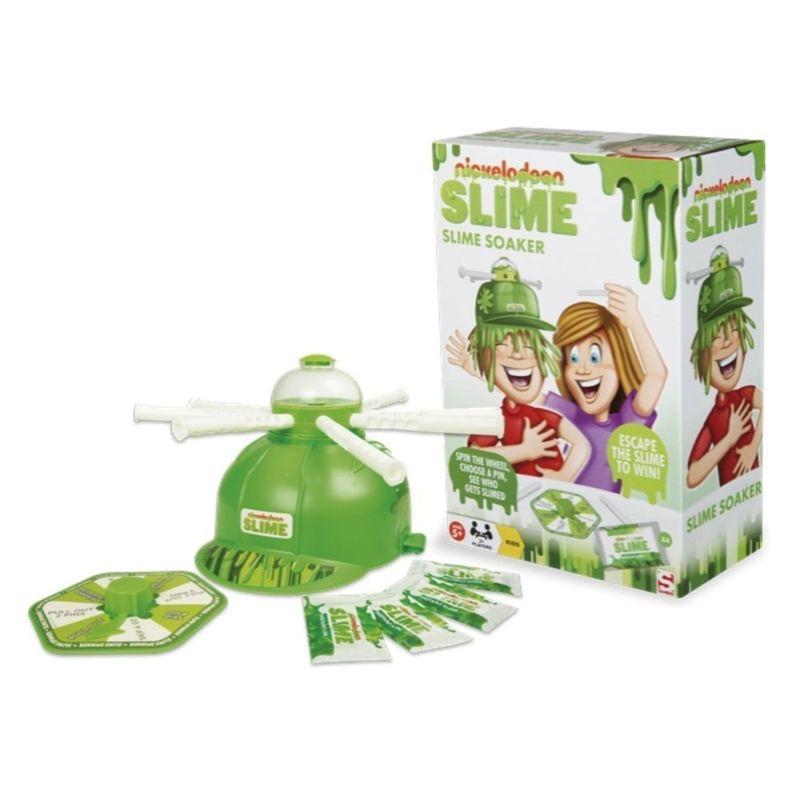 Juego-de-mesa-Nickelodeon-casco-de-Slime