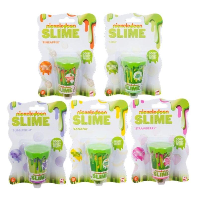 Juego-de-mesa-Nickelodeon-recipiente-de-Slime-afrutado