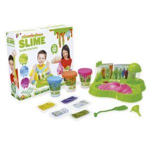 Juego de mesa Nickelodeon estación de Slime