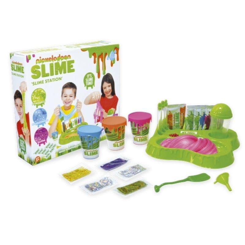 Juego-de-mesa-Nickelodeon-estacion-de-Slime