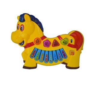 Piano de caballo didáctico