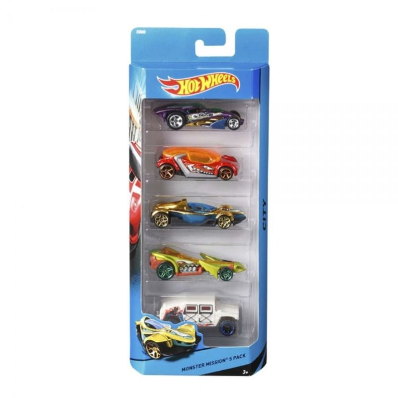 Hot-Wheels-Set-de-5-autos
