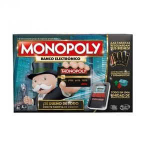 Juego de mesa Monopoly Electrónico