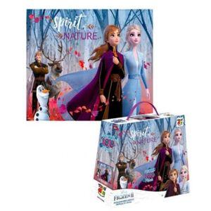 Rompecabezas Frozen 2 x100 piezas