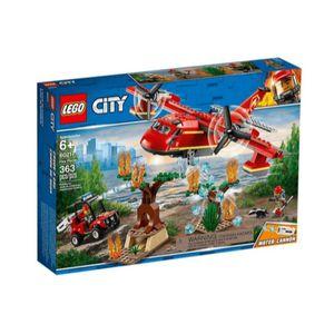 Avión de bomberos ciudad LEGO