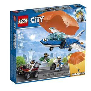 Arresto en paracaídas ciudad LEGO