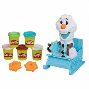 Play Doh Olaf en Trineo