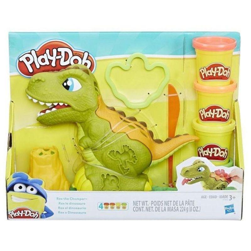 Rex-el-Dinosaurio-Play-Doh