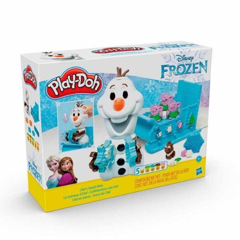 Play-Doh-Olaf-en-Trineo