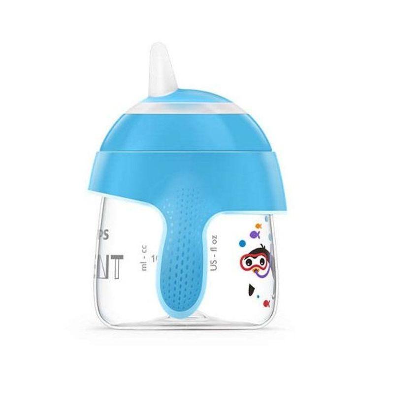 Vaso-Entrenador-200-ml-Azul-Pinguino