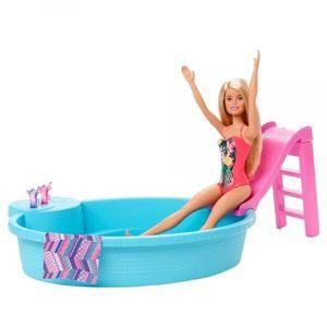 Barbie piscina glam con muñeca