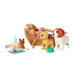 Barbie Guardería perritos
