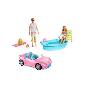 Set Convertible y Piscina Barbie
