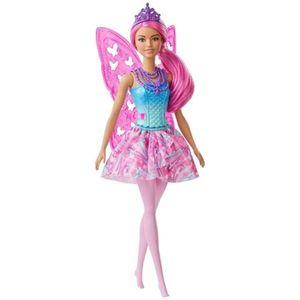 Barbie Hada Dreamtopia Cabello colores vivos
