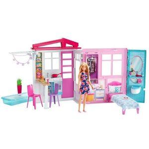 Casa Barbie y Muñeca