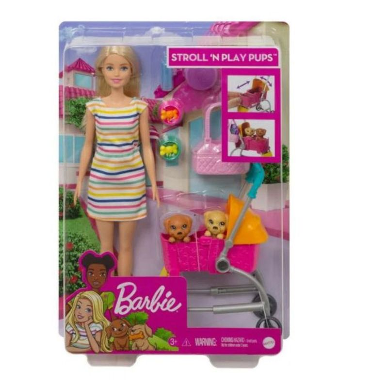 Barbie-carriola-de-perritos-TOY4225