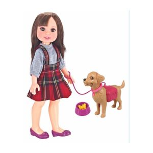 Muñeca Hanna Girls con Mascota