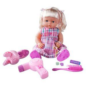 Muñeca Nina con accesorios de belleza